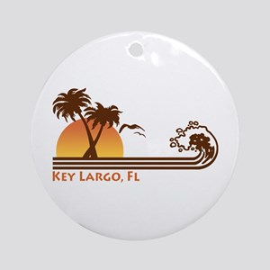 Key Largo Ornament (Round)